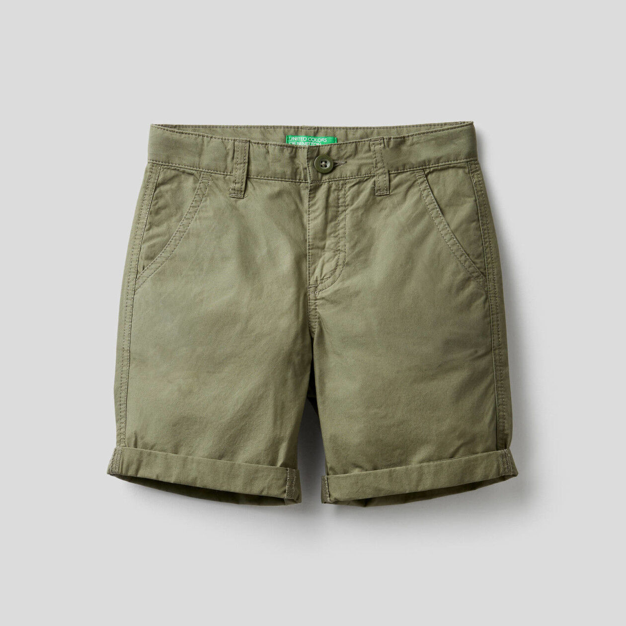 Pure cotton bermudas