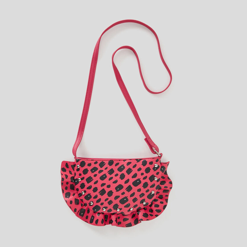 Purse with rouches
