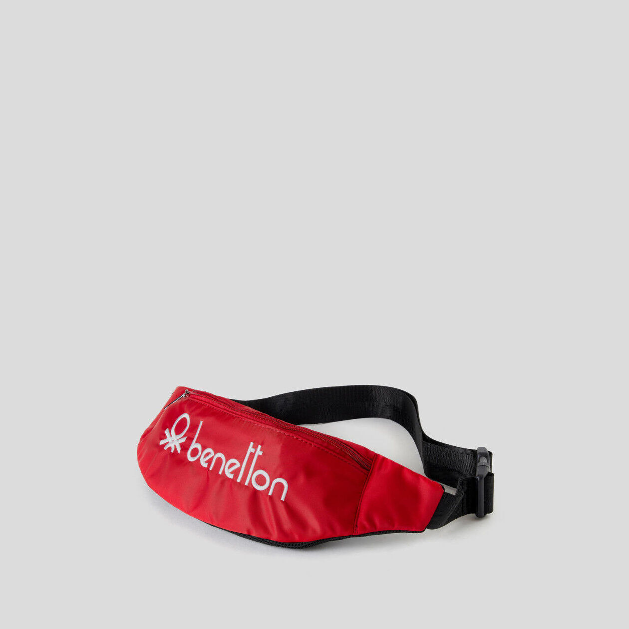 Unisex bum bag with embroidered logo