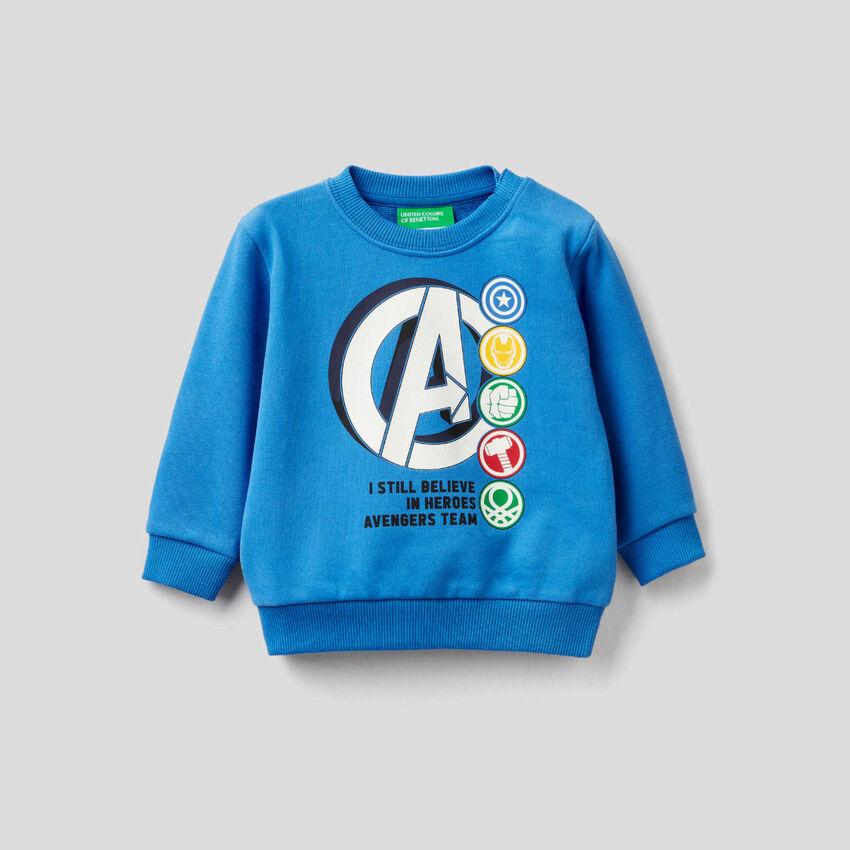 Marvel sweatshirt in pure cotton