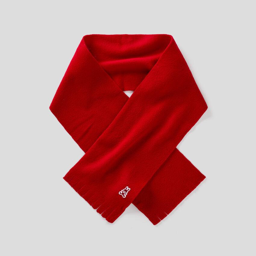Soft fleece scarf