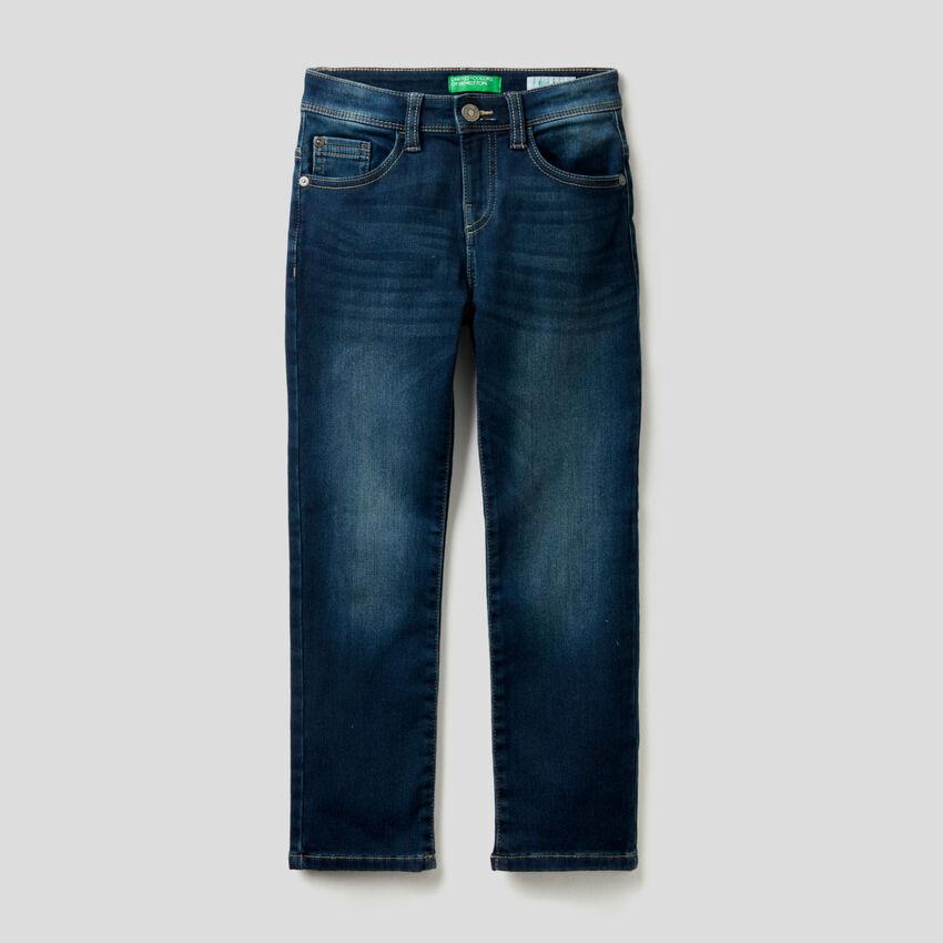 Thermal slim fit jeans