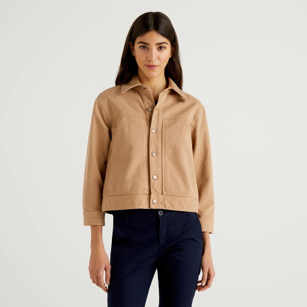 100% cotton jacket