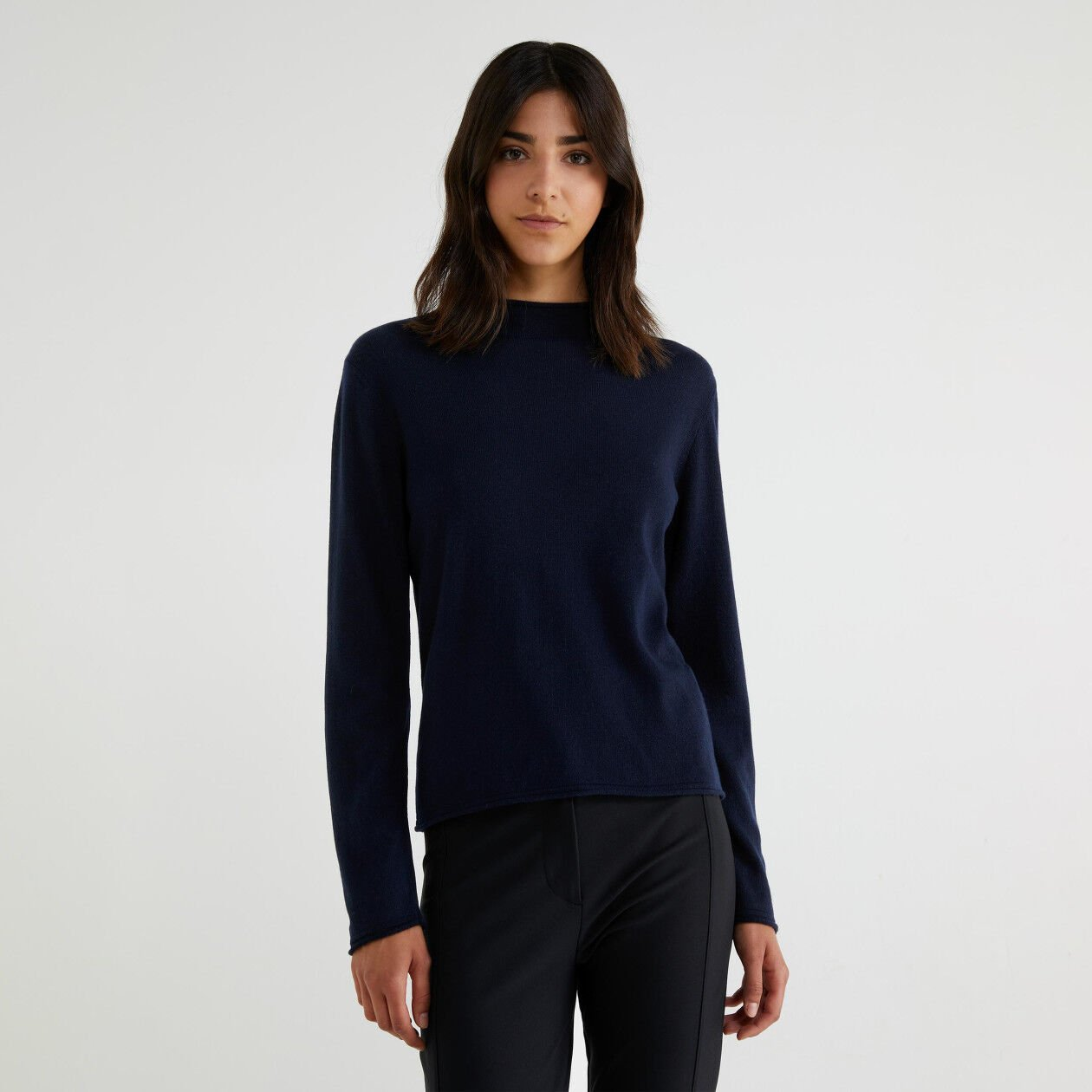 Cashmere blend turtleneck sweater