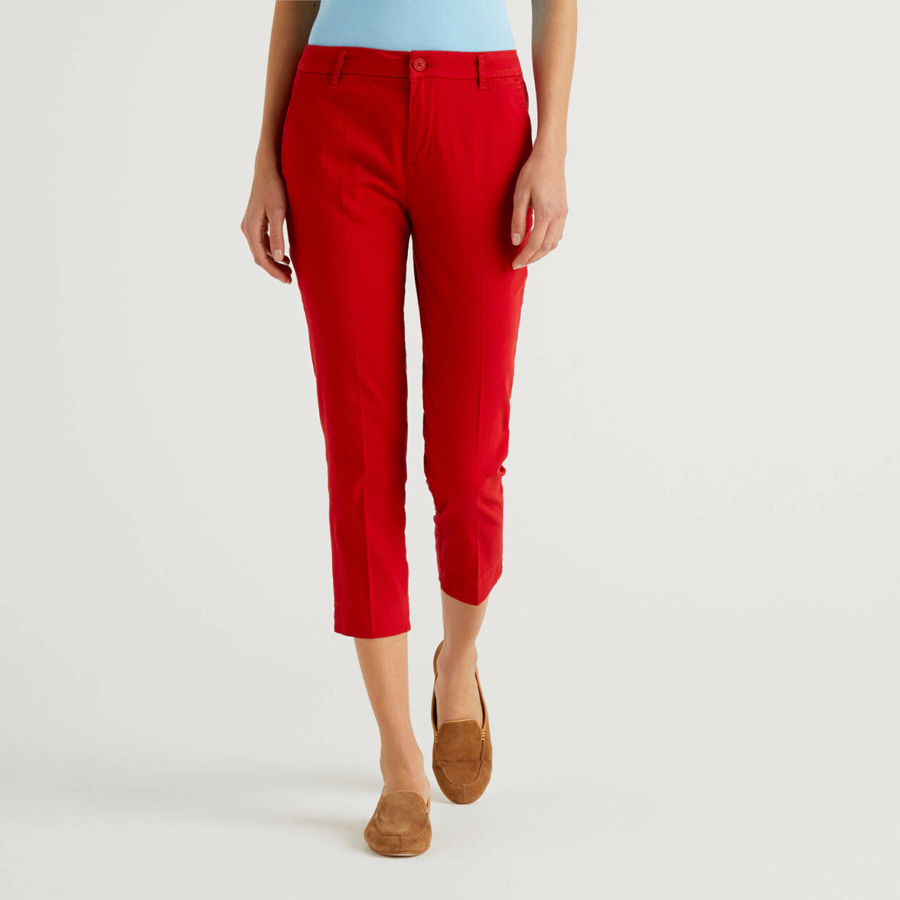 Stretch chino pants