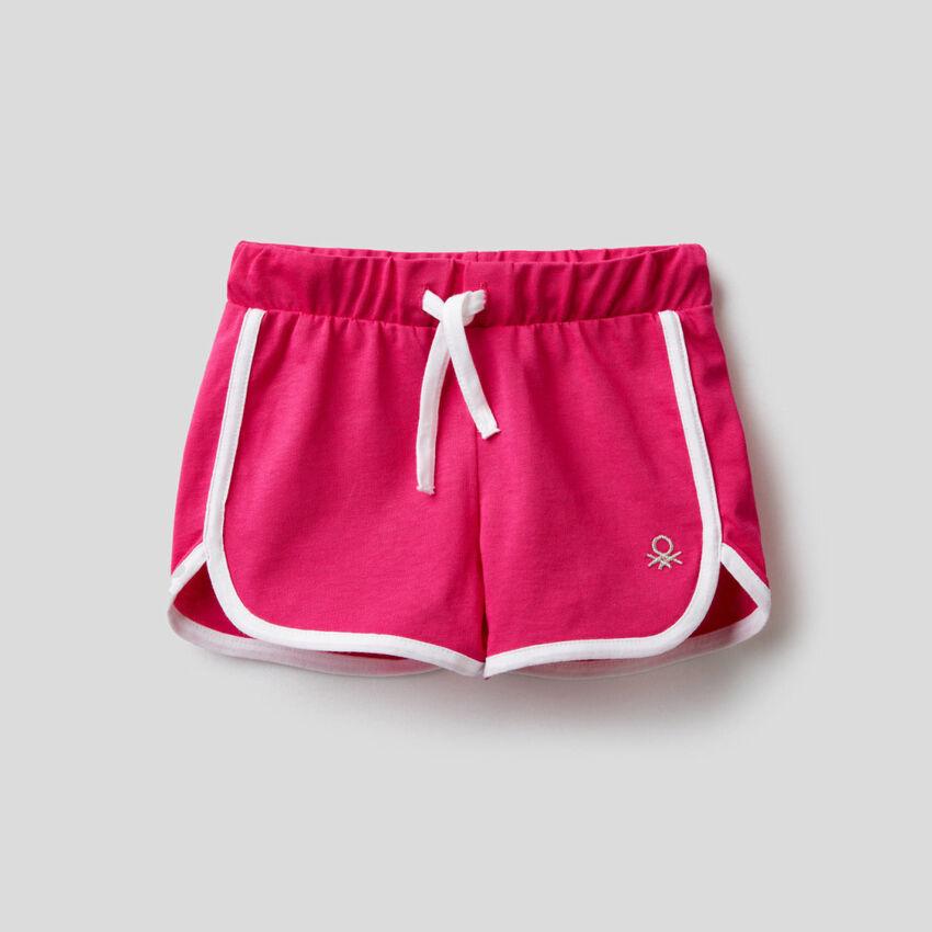 100% cotton shorts