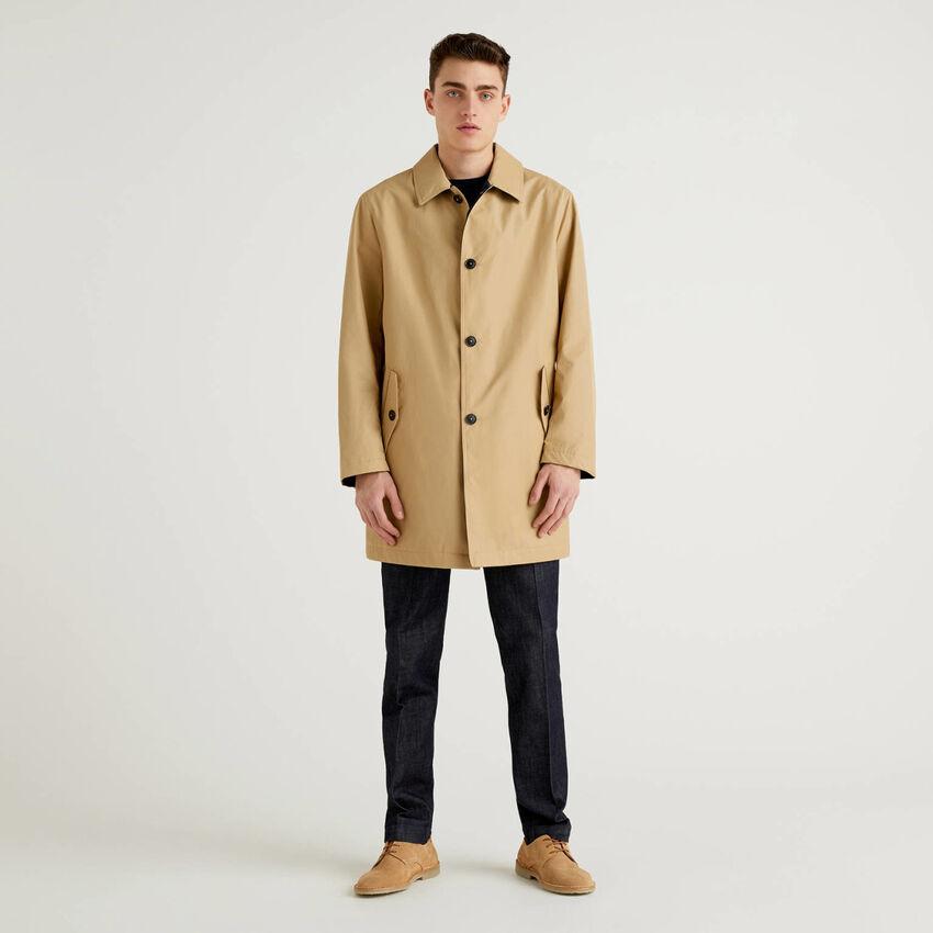 Reversible duster coat