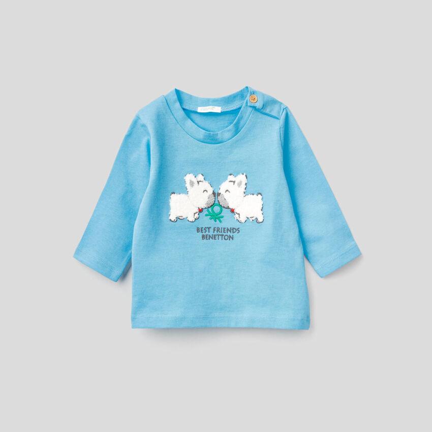 T-shirt in pure organic cotton