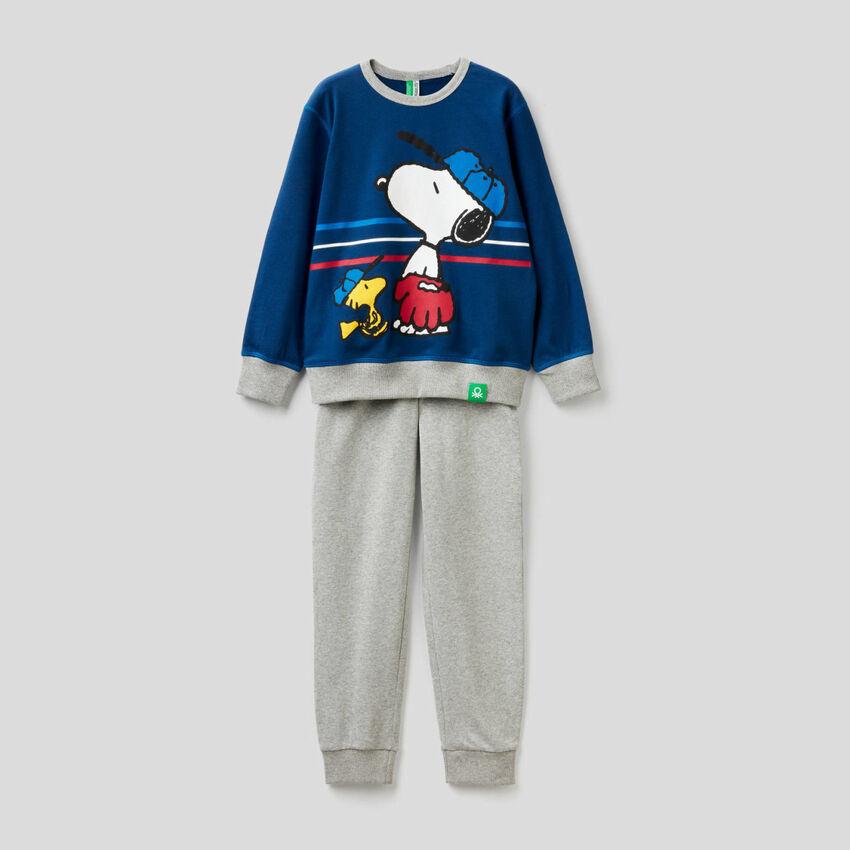 Peanuts pyjamas in pure cotton