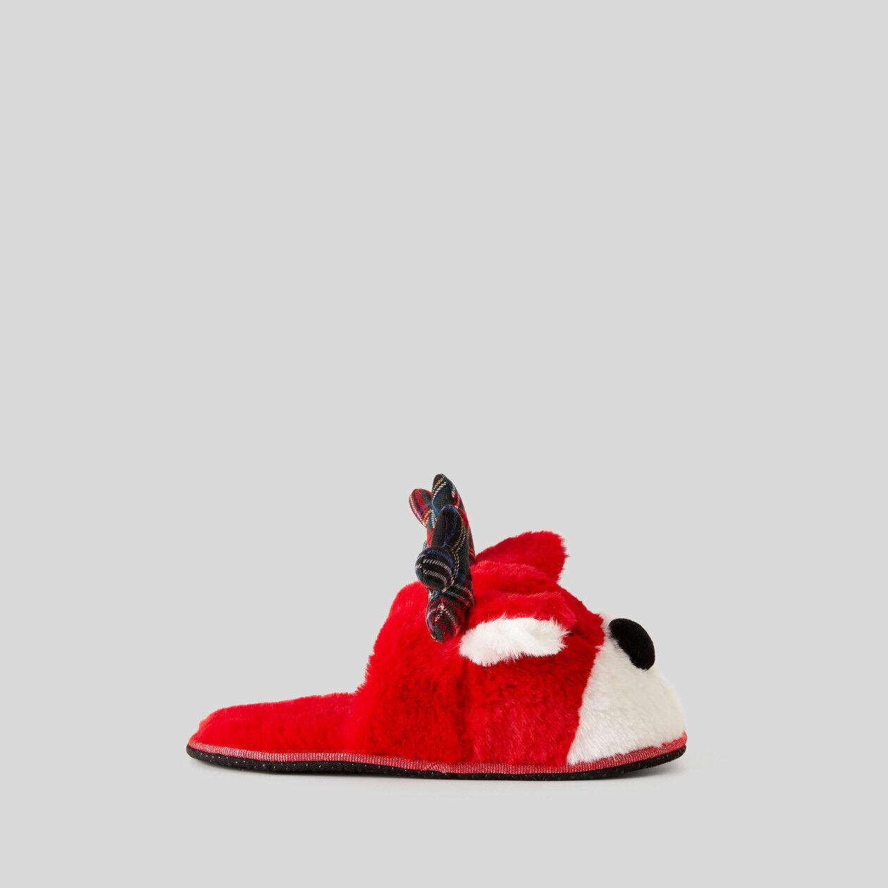 Plush slippers