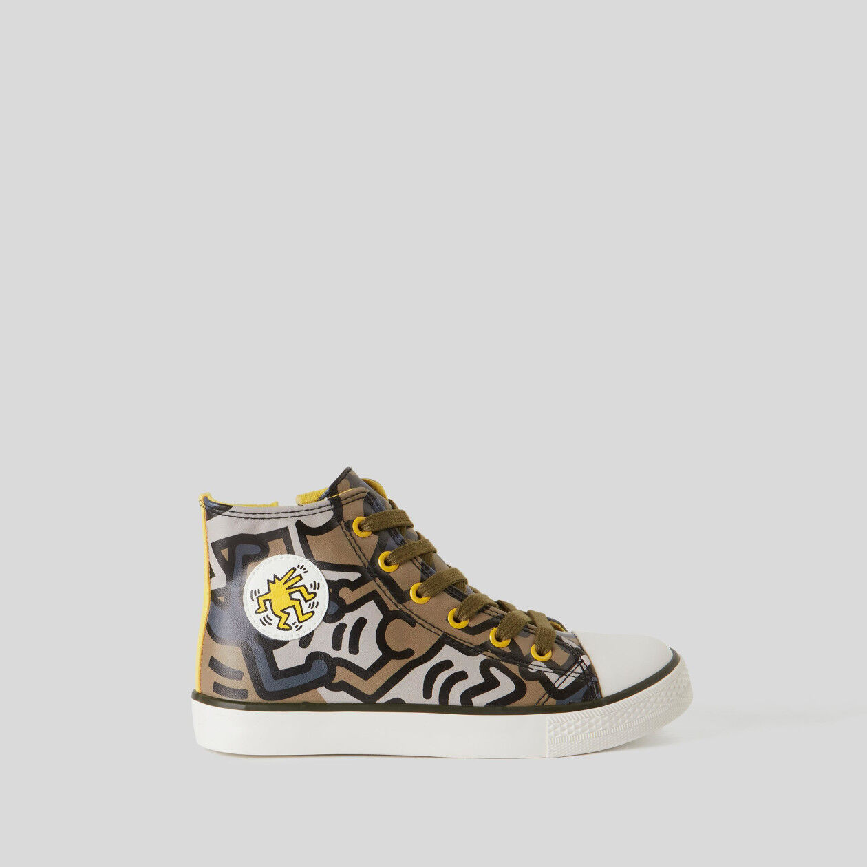 "High-top ""Keith Haring"" sneakers"